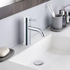 handle bathroom sink faucet
