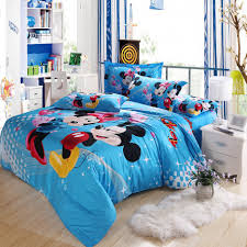 Mickey Mouse Bedroom Curtains Remarkable Home Bedding Children Room Decor Expressing Pleasurable