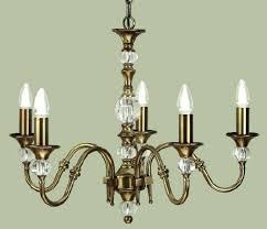 decoration antique brass 5 light chandelier interiors vintage made in spain
