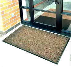 thin door mat very mats