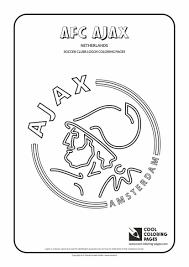 Kleurplaat Ajax Information And Ideas Herz Intakt