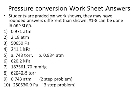 unit conversions worksheet answers pressure conversion worksheet free worksheets library download