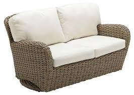 Outdoor Glider Rocker Porch Patio Furniture Swing Rocking 2 Seat Outdoor Glider Furniture