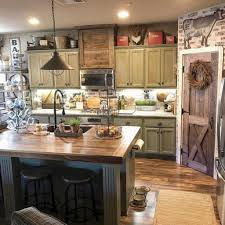 17 Marvelous Rustic Kitchen Cabinet With Farmhouse Style Decorating