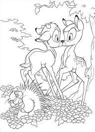 67 Disegni Bambi Da Colorare Per Bambini