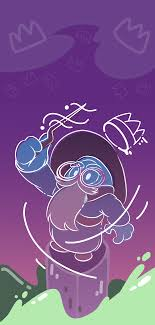 Looking for the best the fall guy wallpaper? I Was Inspired To Do More Wallpapers Here Is A Wizard Fall Guy For Ya Phones Fallguysgame