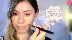 y korea natural makeup an