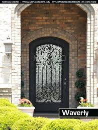 wrought iron doors s frosted glass with black iron front doors wrought iron doors wrought wrought iron doors