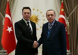 Türkei-Besuch: Musk und Erdogan besprechen Kooperationen