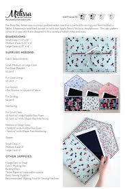 Flex Design Patterns Pdf Busy Day Tablet Case Digital Pdf Pattern Sewing Patterns