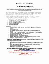 Sample Of Warehouse Worker Resume Warehouse Worker Resume Objective For Examples Sample Packer Job 16