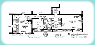 Solar Adobe House Plan Click to view larger image of house plan