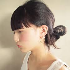 ぱっつん前髪がかわいいアレンジのやり方とヘアスタイルhair