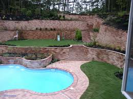 backyard retaining wall designs. Landscaping Wall Ideas Unique Backyard Retaining Fresh Walls Designs D