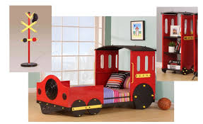 Red Train Toddler Bed