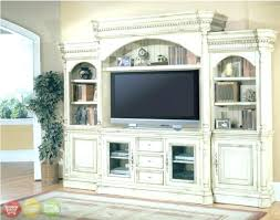 white tv entertainment center. Large Tv Entertainment Cabinet Center White Ornate Wall Unit House I