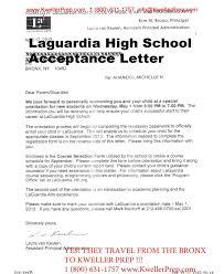 letter acceptance letter