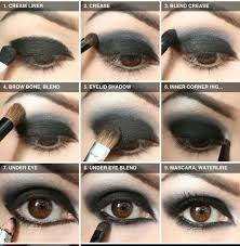 makeup madness dark eye shadow tutorial gothic