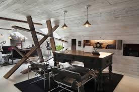 modern rustic office. Extraordinary Design Rustic Modern Office Unique Decor Zampco