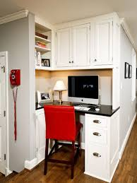 office in kitchen. elegant builtin desk home office photo in dc metro with gray walls kitchen n