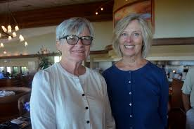 Library closes chapter on season - Incoming second Vice President Barb  Torrence and membership at large Priscilla Burke | Your Observer