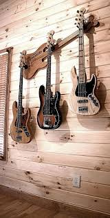 how to hang a guitar on the wall with a
