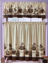 Java Kitchen Curtains