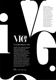 Typography Design Layout Use Of Large Type Typography Layout Typographic Design