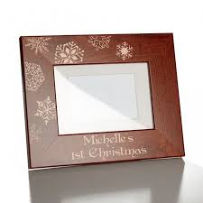 Babys 1st Christmas 5x7 Picture Frame