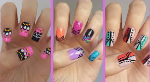 Best Nail Art Designs Step By Step At Home Ideas - Interior Design ...
