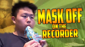 Mask Off Recorder Finger Chart Future Mask Off On The Recorder Chords Chordify