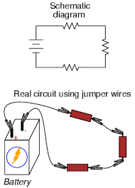 building simple resistor circuits series and parallel circuits this technique however proves impractical for circuits much more complex than this due to the awkwardness of the jumper wires and the physical fragility