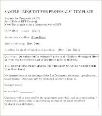 Response To Rfp Sample Rfp Format Template Format Template Sample Template Sample
