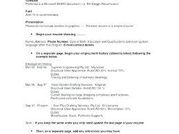 Sample Of A Resume Letter Resume Sample Directory