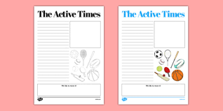 The Times Newspaper Template The Active Times Newspaper Template Active Flag Active