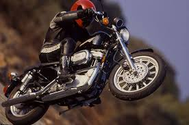 1998 Harley Davidson Sportster Sport Riding Impression
