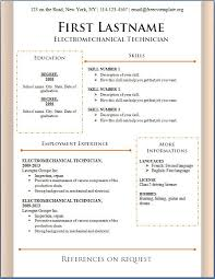 Free Curriculum Vitae Blank Template Http Www Resumecareer Info