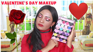 valentine s day makeup tutorial 2019 ella mojoko