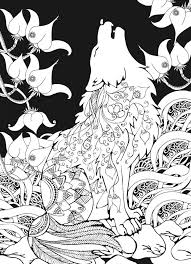 Wolf Coloring Pages Coloringrocks