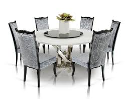 mind blowing dining room design ideas using round dining table with lazy susan inspiring dining