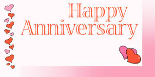 happy anniversary banners custom happy anniversary banner with hearts dream scenes