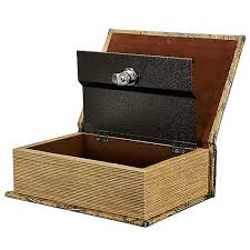 open book stash box
