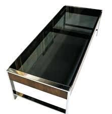 smoked glass coffee table mid century chrome smoked glass coffee table style smoked glass coffee table