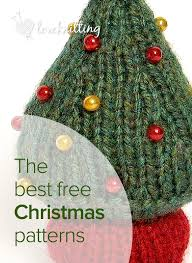 The best FREE Christmas knitting patterns - Available at LoveKnitting