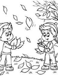 Kleurplaat Herfst Tropicalweather