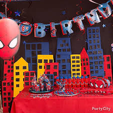 Spider Man Party Ideas Party City