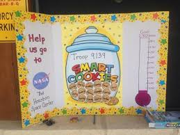 Girl Scout Cookie Goal Chart Goal Chart For Booth Girl