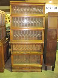 antique bookcase with glass doors furniture crazy lawyer bookcases bookshelves barrister sauder wooden first class book