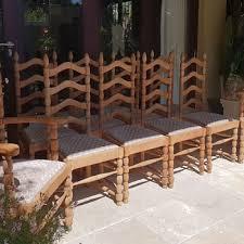 antique wooden dining chairs. Modren Wooden Antique Oak Ladderback Dining Chairs In Wooden Dining Chairs
