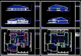 autocad house plans lovely autocad building plans pdf house